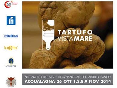 Tartufo Visto Mare presenta i suoi piatti alla Fiera del Tartufo di Acqualagna – dal 26 ottobre al 9 novembre.