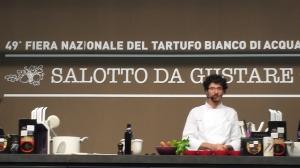 """Chef Fares Issa """"Cibus Noster"""" di Terni."""