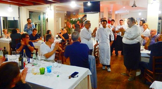 Serata di apertura alla TRATTORIA 37 di Porto Sant'Elpidio